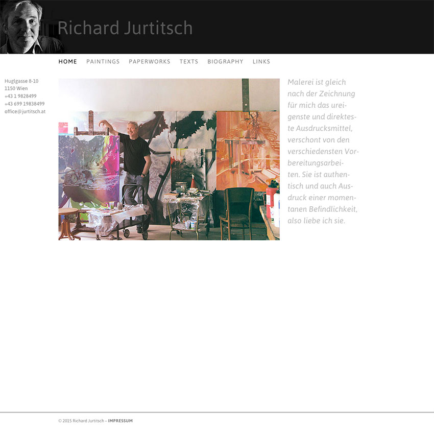 Richard Jurtitsch Webdesign